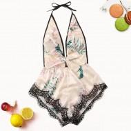 Pijama de seda baby doll super promoção Ref 1810