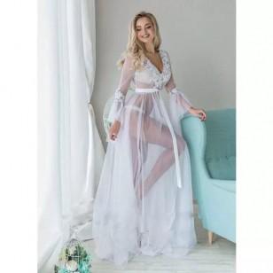 Moda íntima camisola longa de noiva Ref 780