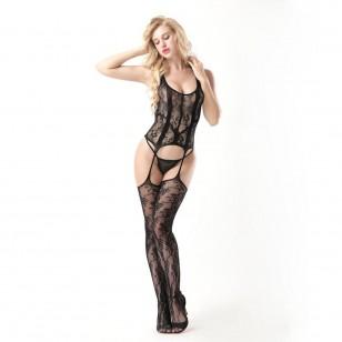 Conjunto lingerie renda linha qualidade luxo Ref 1663
