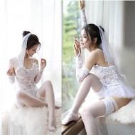 Conjunto de lingerie da noiva casamento lua de mel Ref 804
