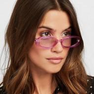 Óculos feminino redondo pequeno Ref 1616
