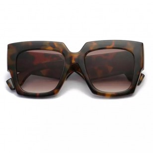 Óculos armação animal print Ref 1056