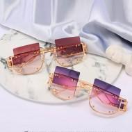 Óculos lentes quadradas moderno feminino Ref 1521