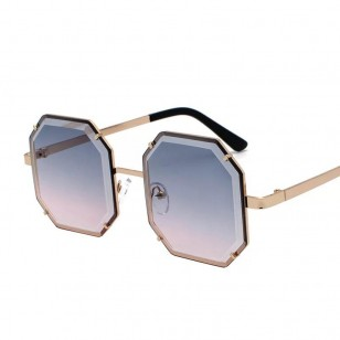 Óculos armação quadrada com proteção 400 ultra violeta Ref 1592