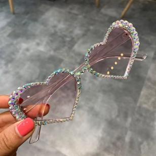 Óculos feminino armação de coração Ref 1358