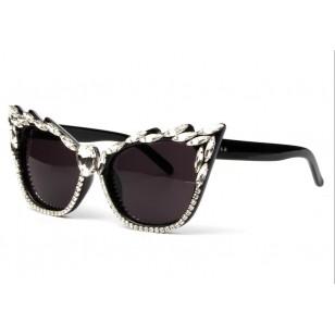 Óculos de sol luxo pedrarias super promoção Ref 1316