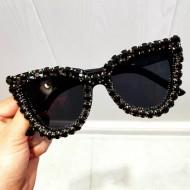 Óculos de sol UV400 pedrarias Ref 1354
