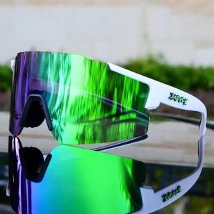 Óculos de ciclista UV 400 profissional Ref 1613