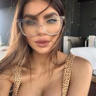 Óculos Clear Transparente com UV 400 Ref 75
