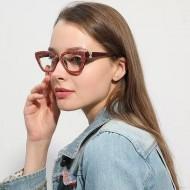 Óculos feminino lente transparente sem grau Ref 1368
