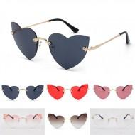Óculos feminino armação em formato de coração Ref 1617