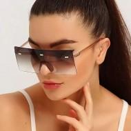 Óculos quadrado grande de sol feminino Ref 3390
