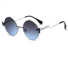 Óculos play redondo lente degradê Ref 3288