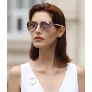 Óculos de luxo lente Rose Gold espelhado Ref 3382