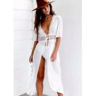 Saída de praia túnica moda blogueira Ref 272