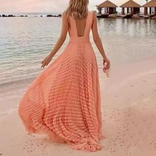 Vestido de praia longo Ref 485