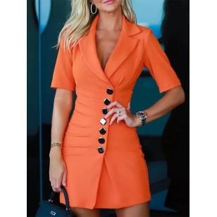 Vestido empresária moda executiva Ref 1160