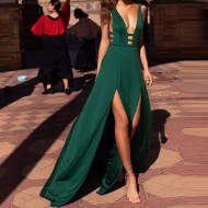 Vestido de festa verde madrinha ou convidado Ref 794