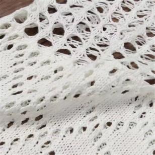 Vestido longo de crochê Ref 509