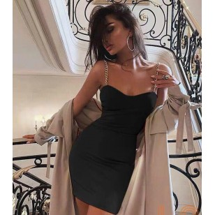 Vestido de festa eventos elegante noite luxo basiquinho Ref 2467