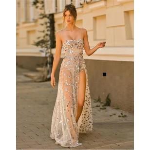 Vestido de festa noite praia sarau balada sunset Ref 2959