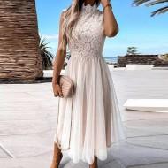 Vestido off white de madrinha formatura casamento Ref 3028