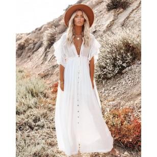 Vestido branco pré wedding Ref 2965