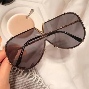 Óculos fashion grife UV 400 proteção luxo Ref 2474