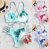 Conjunto de biquíni duas peças roupa de praia feminina Ref 2191