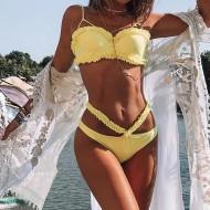 Biquini amarelo Joaquina Ref 122
