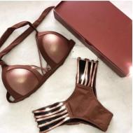 Biquíni bronze luxo blogueiras Ref 315