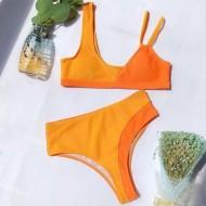 Biquíni laranjado neon 2020 Ref 594
